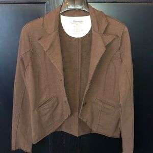 Maurice's brown jacket  Size Med